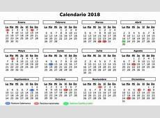 Las fechas 'en rojo' de 2018 en Salamanca el calendario