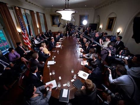 the presidents cabinet the president s cabinet meeting