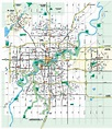 Large Edmonton Maps for Free Download and Print | High ...