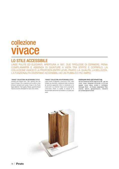 Pivato Porte Catalogo by Catalogo Pivato Vivace Porte Interne In Legno Porte Per