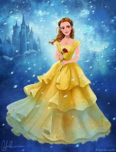 Emma Watson as Belle - Beauty and the Beast 2017 by ...