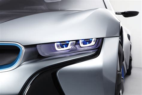 bmw i8 laser lights laser headl is more efficient and awesome than leds