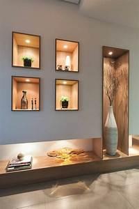 1001 idees comment decorer vos interieurs avec une niche for Meubles de salon contemporain 13 1001 idees comment decorer vos interieurs avec une niche