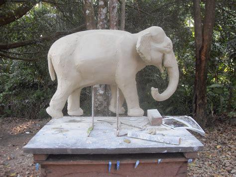 elephant clay model sean hunter williams