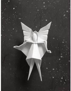 Christmas Tree Fairy Origami