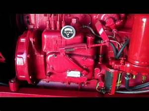 Farmall 450 Injector Pump Removal