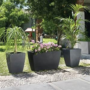 decoration terrasse plantes jarre deco jardin horenove With chambre bébé design avec pot pour fleur exterieur