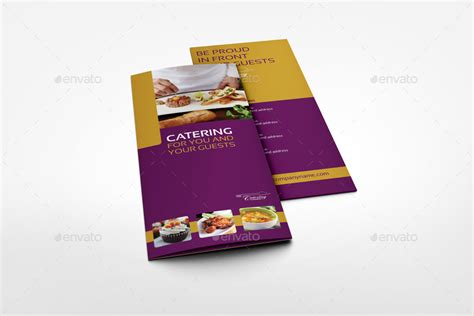 Catering Brochure Templates by Catering Tri Fold Brochure Template By Owpictures