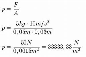 Druck Berechnen Formel : auflagedruck ~ Themetempest.com Abrechnung