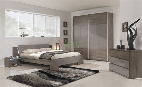 chambre gauthier modern bed gami trapeze bed set modern bedroom set by
