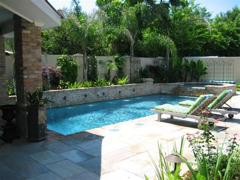 water garden modern pool new orleans by ferris