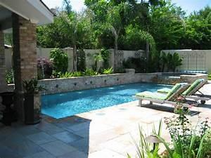 Water garden modern pool new orleans by ferris for Modern pool in garden