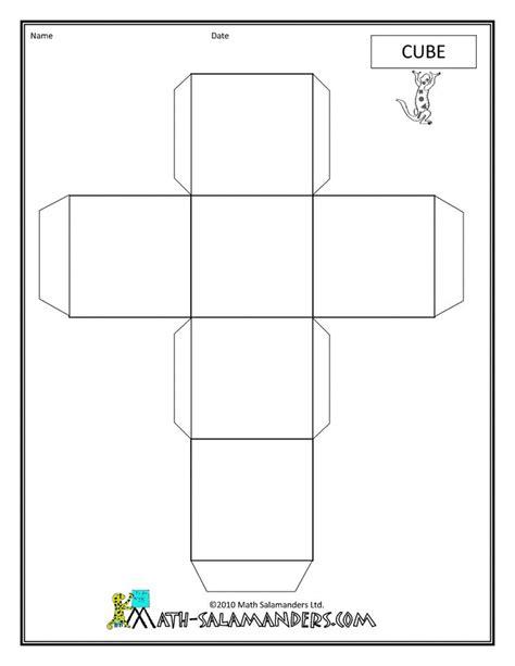 nets images  pinterest  shapes worksheets