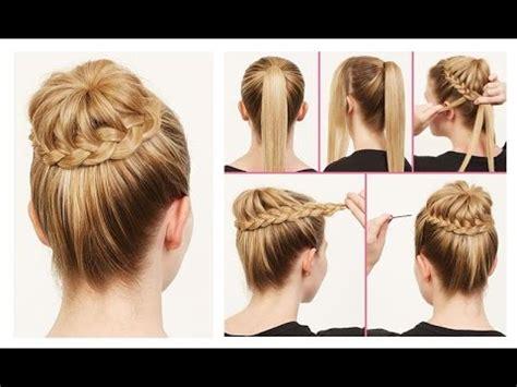 beautiful easy hairstyles step  step beautiful
