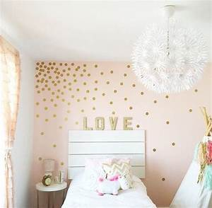 25 best ideas about gold bedroom on pinterest gold With cute gold heart wall decals