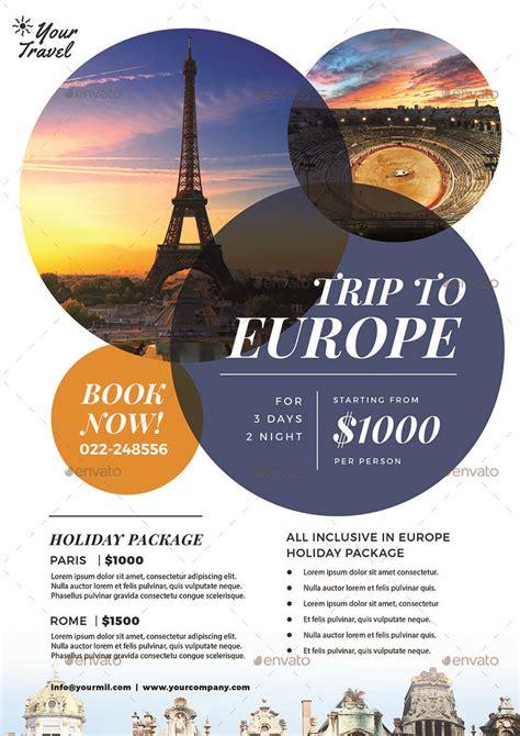 travel flyer  vynetta graphicriver