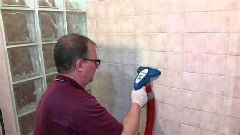 professionally clean tile  grout   soap