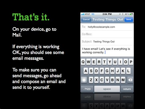 outlook email on iphone iphone setting up workspace email 2500