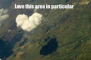 a heart shaped cloud, funny pictures