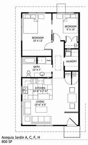 Single story small house plans two bedroom floor plans one for Little house plans one bedroom