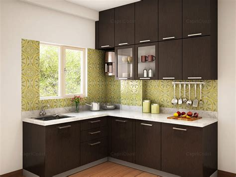 modular kitchen design l shape munnar l shaped modular kitchen designs india homelane Indian
