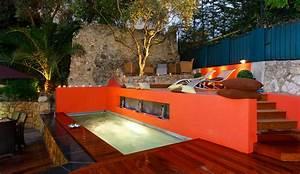 deco exterieur terrasse latest idee deco terrasse With beautiful amenagement terrasse exterieure appartement 4 decoration exterieur en bois mc immo