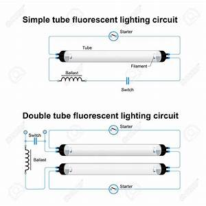 Wiring Diagram Ballast Fluorescent Lights