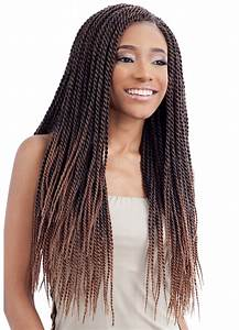 Model Model Glance Crochet Braid SENEGALESE TWIST SMALL