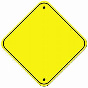 Blank Road Sign Clipart - Clipart Suggest