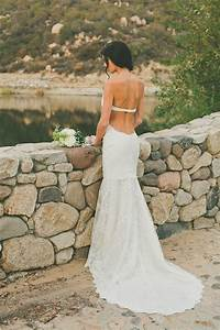 Saturday style backless wedding dresses by katie may for Katie may backless wedding dress