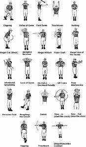 Nfl Officials Signals  A Picture Guide At 4 Nfl Picks Com