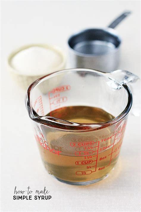 how to make simple syrup how to make simple syrup live laugh rowe
