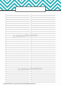 EDITABLE Printable To Do List Printable by AllAboutTheHouse