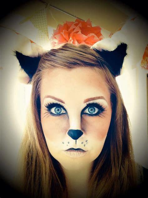 cute fox halloween makeup ideas   instaloverz