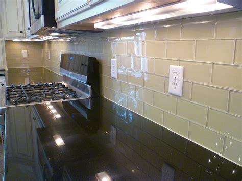 glass tile for backsplash in kitchen glass subway tile kitchen modern with glass backsplash