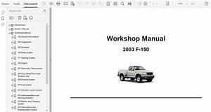 2003 Ford F150 Repair Manual