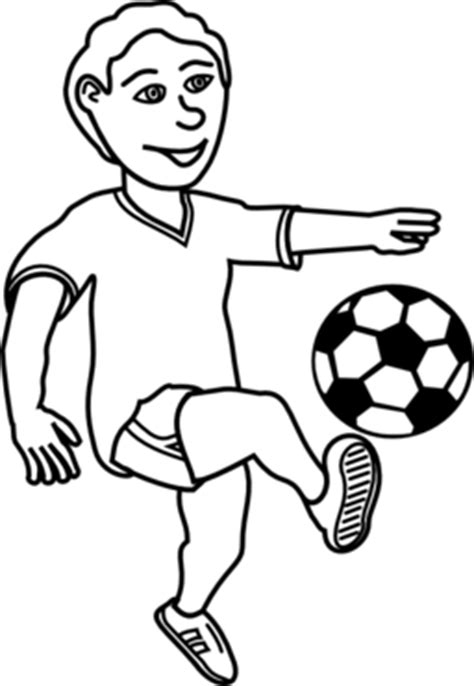 color wheel  soccer playing boy clipart