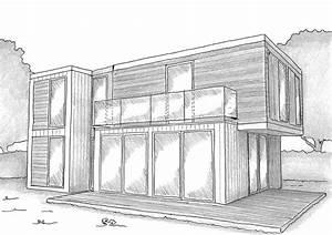 Plan De Construction : plan maison container 90 m ooreka ~ Melissatoandfro.com Idées de Décoration