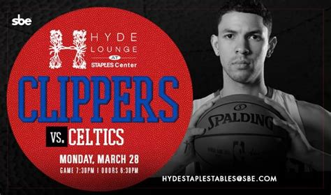 Clippers vs Celtics Tickets at Hyde STAPLES in Los Angeles ...