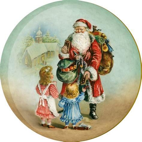 weihnachtskugel stnikolaus bei den kindern  cm