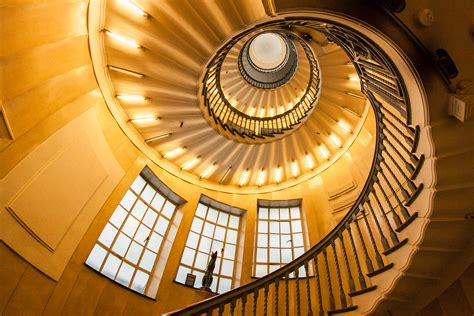 Golden Spiral This is the beautiful wooden staircase in