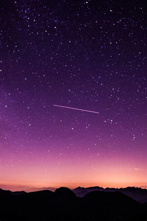 wallpaper starry sky night purple sky twilight