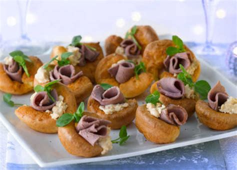 healthy canapes dinner recipe mini pudding canapés sainsbury 39 s