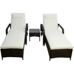 Chaise Basse De Salon chaise longue bain de soleil aluminium en r sine tress e