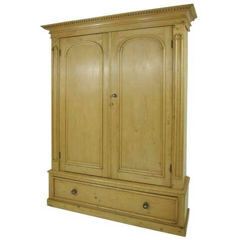 Wardrobe Cabinet by B281 Large Pine Two Door Armoire Wardrobe Display Pantry