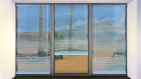 mod the sims horizontal curtain blinds
