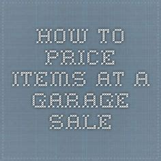how to price garage items consignment pricing guide kid