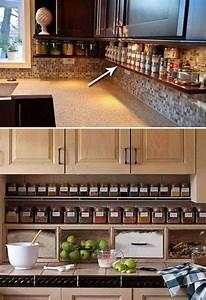 36 inexpensive kitchen storage ideas for a tidy kitchen