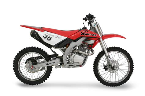 red motocross dirt bike xzr250 xb 35 21 quot 18 quot red