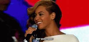 Beyonce Any Questions GIF - Beyonce AnyQuestions SuperBowl ...